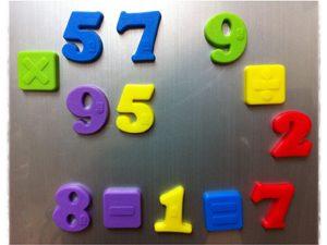 מספרים מגנטים ללימוד ברייל