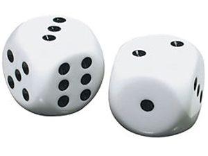 קוביות משחק בגודל ג'אמבו
