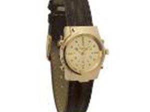 שעון ברייל שוויצרי לאשה זהב
