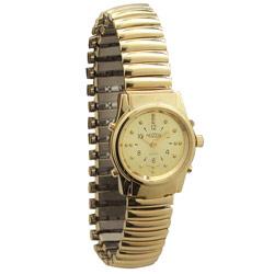 שעון יד ברייל דובר אנגלית לאשה זהב