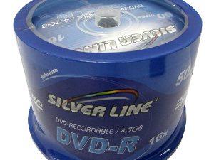 50 יח דיסקים לצריבה DVD