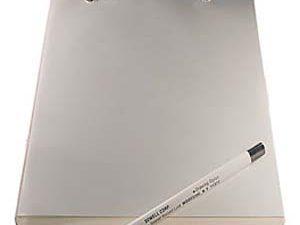 לוח שרטוט עם דפים שקופים