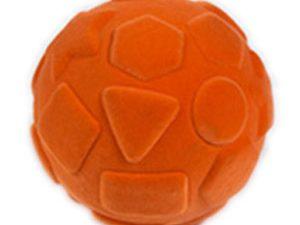 כדור ספוגי עם צורות כתום